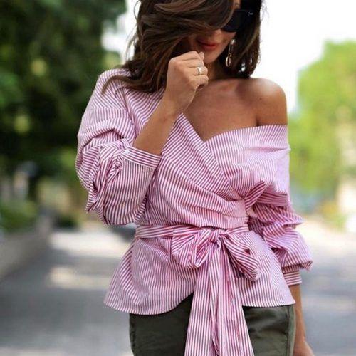 КраÑивые блузки 2018-2019 года Ð´Ð»Ñ Ð¶ÐµÐ½Ñ‰Ð¸Ð½, модные модели блузки, новинки, тенденции, фото