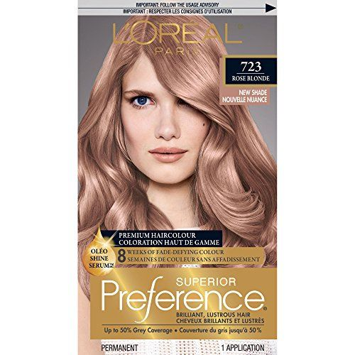 L Oreal Paris Superior Preference Permanent Hair Color 7