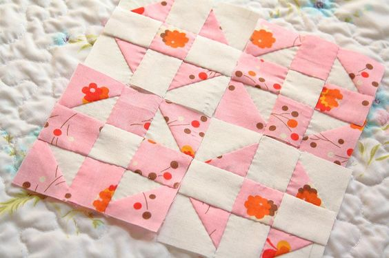 hand pieced shoo fly by Erin @ Why Not Sew? Quilts, via Flickr