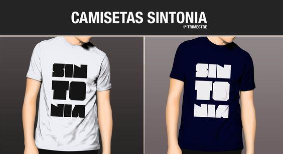 Cliente: Banda Frequência.07 / Proposta: Camiseta para evento SNTONIA / Desenvolvimento: Igor Alves
