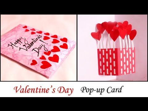 How To Make Mini Greeting Card For Your Love Diy Valentine Day Gift Card Making Tutorial Valentines Cards Valentine S Day Diy Valentines Day Cards Handmade