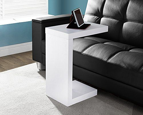 White Solid Top Accent Table White Accent Table White Side Tables White End Tables