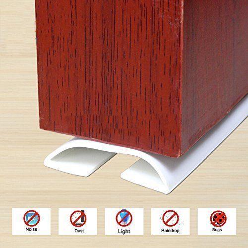 Under Door Adhesive Rubber Foam Threshold Seal Strip Bottom Weather Soundproof W Loobani
