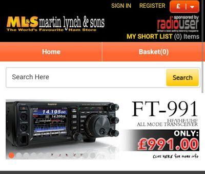 Delboy's Radio Blog: Yaesu FT-991 Only £991@ Martin Lynch! - This Week...