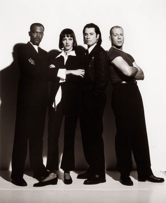 "120 | O elenco de ""Pulp Fiction - Tempo de Violência"" (1994)"