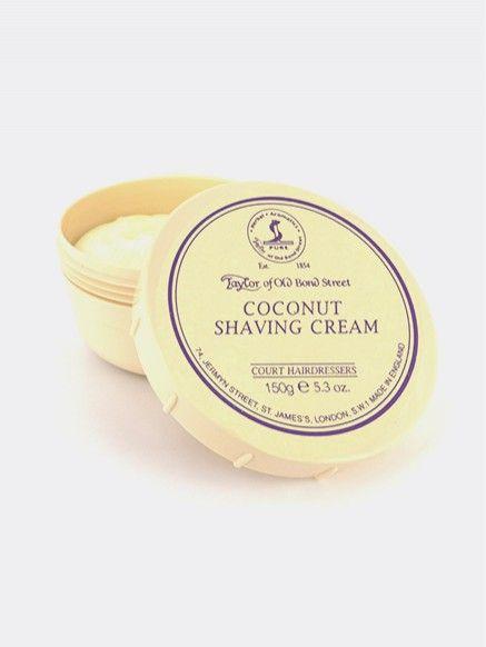 Pot scheercreme 150g Coconut  Coconut scheercreme in een pot van 150g. Deze scheercrème geeft een glad en romig schuim. Het beschermt de huid en is vochtinbrengend voor een glad scheerresultaat.