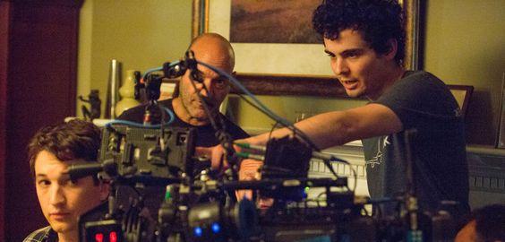 Damien Chazelle Whiplash | Damien Chazelle bei Dreharbeiten zu Whisplash