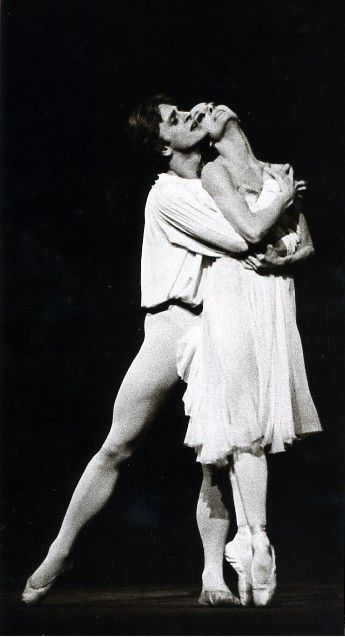 Mikhail Baryshnikov and Merle Park with Royal Ballet in 'Romeo and Juliet'…