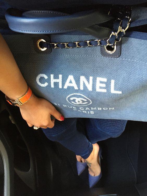#Chanel & #ChristianLouboutins #Denim