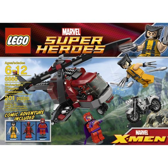 Amazon.com: LEGO Wolverine Chopper Showdown 6866: Toys & Games - Sammy wants this for his birthday