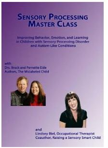 Sensory Processing Master Class (DVD) - Pinned by @PediaStaff – Please visit http://ht.ly/63sNt for all (hundreds of) our pediatric therapy pins