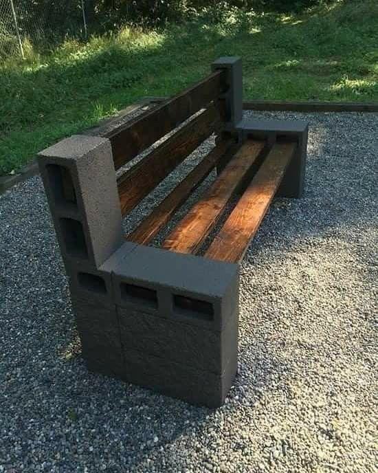47 Gut Selbstgemacht Cinder Block Mobel Und Dekor Ideen Garden Furniture Design Cheap Fire Pit Backyard