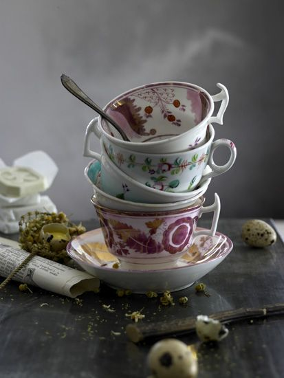 .: Stacked Teacups, Cups Equals, Photo Still Life, Tea Cups, Art Still Life, Life Photography, Teacup Treasures, Teabags Teacups