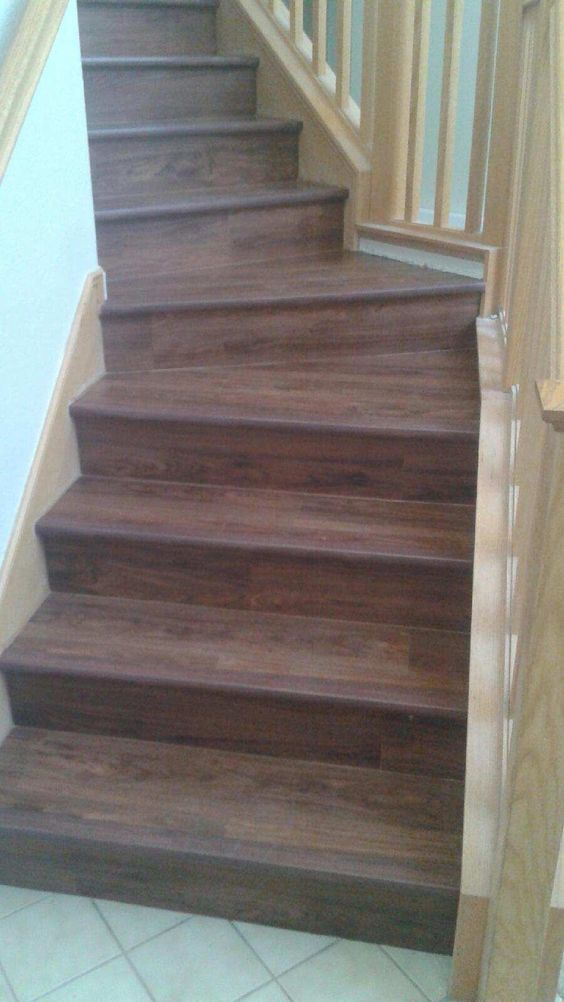 Vinyl planks beautiful and vinyls on pinterest for Luxury stair carpet