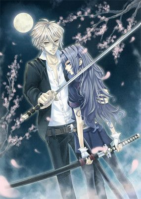 Anime couples other images alphabetical sword - Dark anime couples ...