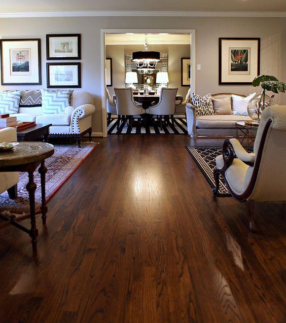 Beautiful Goth Bedrooms With Wood Floor: Benjamin Moore