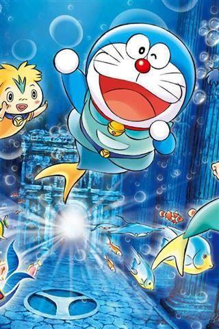 Wallpaper Doraemon Bergerak Untuk Android Wallpaper Doraemon Wallpapers Doraemon Anime