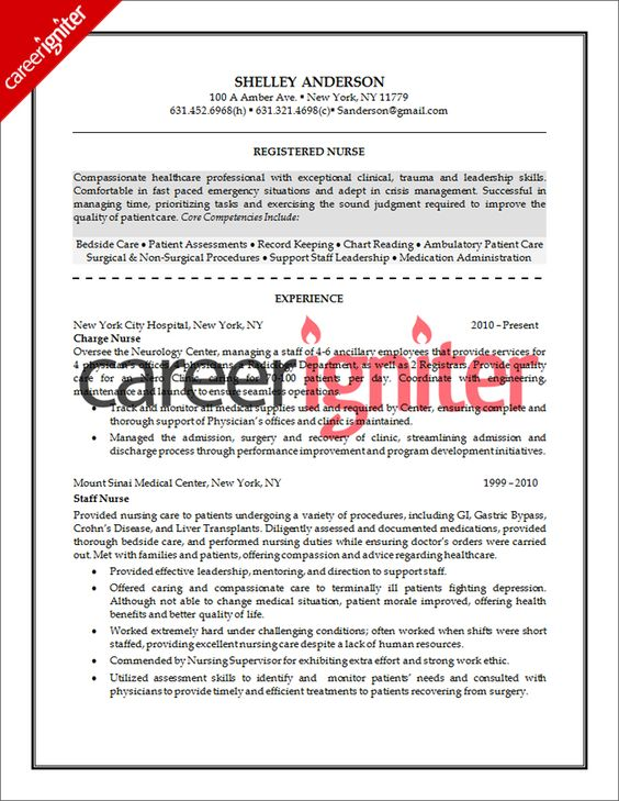 17 Best images about Resume Samples on Pinterest Physical - how to write a career change resume