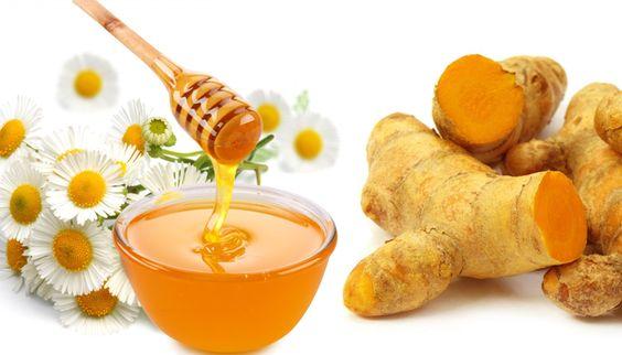 Nghệ và mật ong giúp làm đẹp da