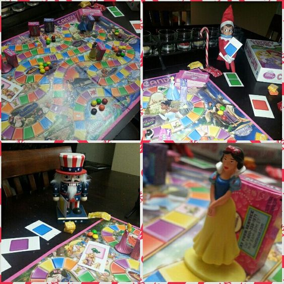 Son of a Nutcracker, that's one intense game of Disney Princess Candy Land.