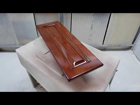 Cabinet Refinishing Using 2k Poly Youtube Refinishing Cabinets Refinished Maple Cabinets