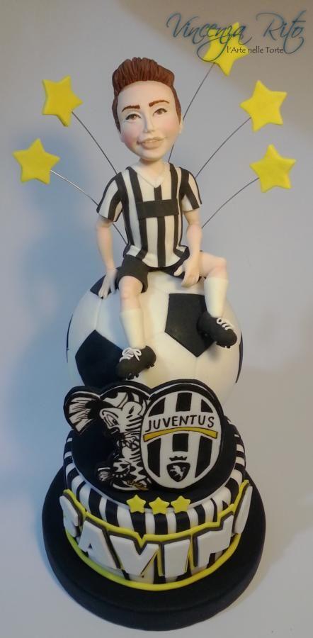 Juventus cake - Cake by Vincenza Rito - l'Arte nelle torte