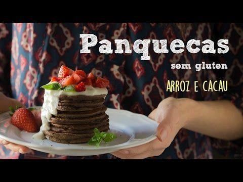 Panquecas de arroz e cacau (sem gluten) | Made by Choices