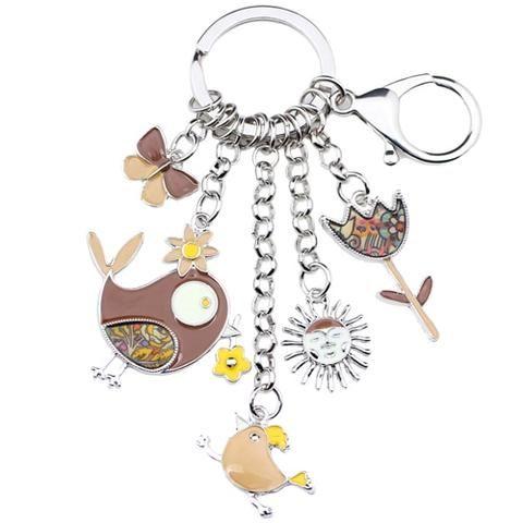 Beautiful mitten key chain