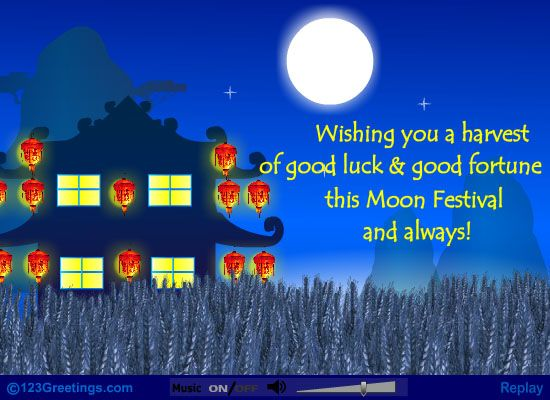 Wishing you a harvest of good luck and good fortune this moon wishing you a harvest of good luck and good fortune this moon festival and always moon festival pinterest m4hsunfo
