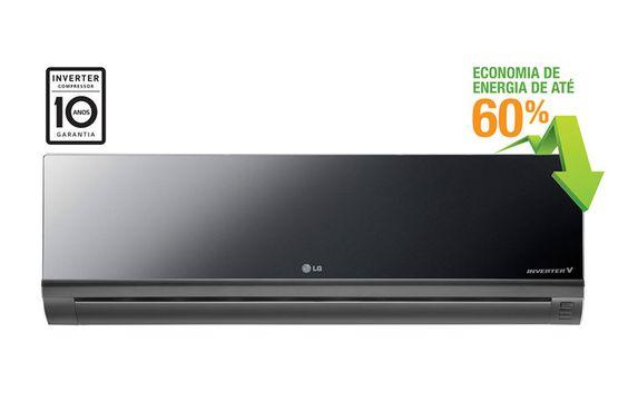 Conheça a linha de Splits da LG. Com 9.000 BTUs e design moderno, muito mais…