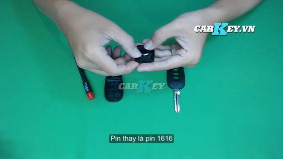 Thay pin chìa khóa Chevrolet - carkey.vn