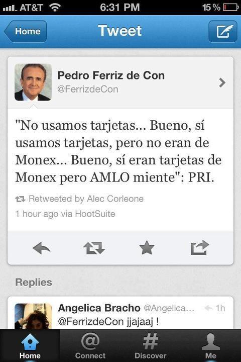 Ya ven lo que pasa cuando se piensa en los medios mexicanos