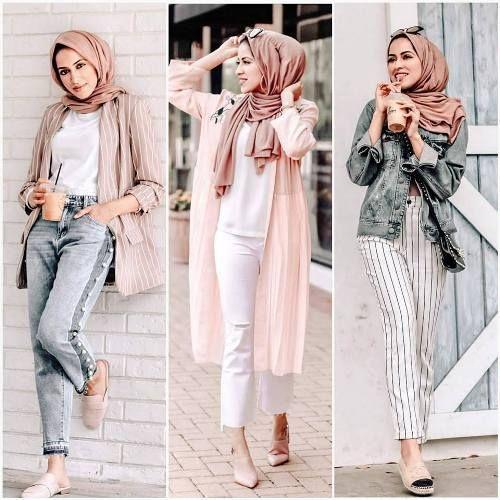 Summer Hijab Trends Just Trendy Girls Hijab Trends Hijab Fashion Inspiration Hijabi Outfits Casual