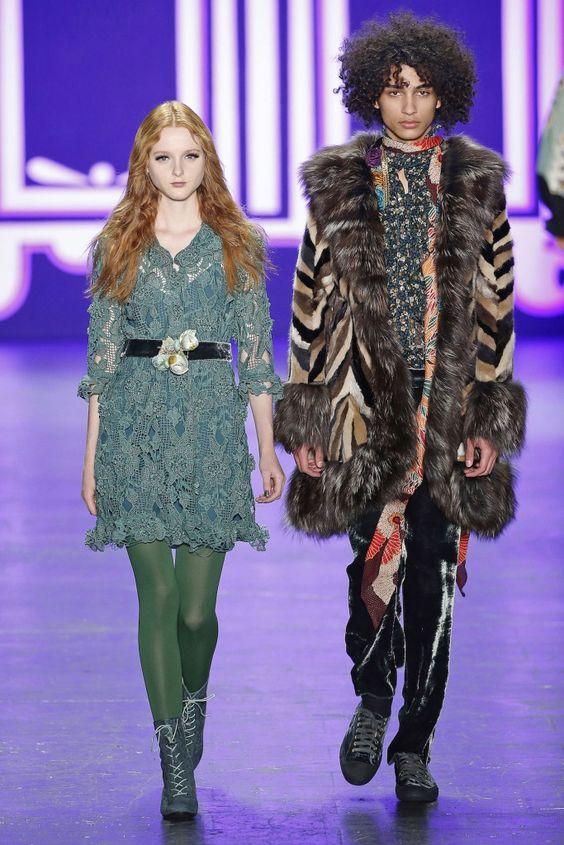 Anna Sui, A-H 16/17 - L'officiel de la mode