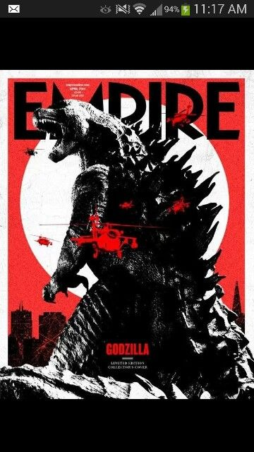 #Godzilla. don't know who made this but i love it