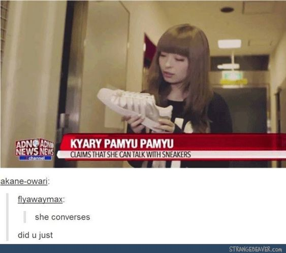 PAMYU-SAN WHAT ARE YOU DOING?