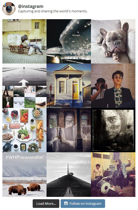 instagram Feed wordpress