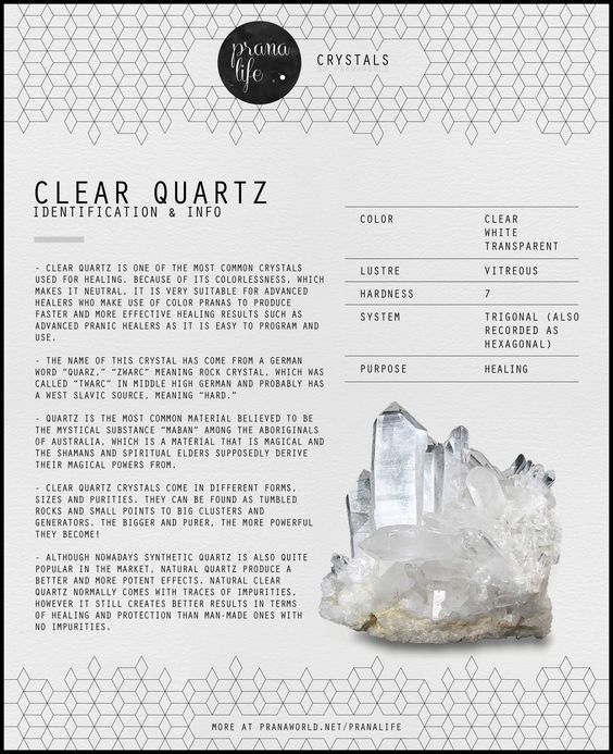 #TCGN: Therapeutic use of Crystals & Minerals: Prana Life | Clear Quartz