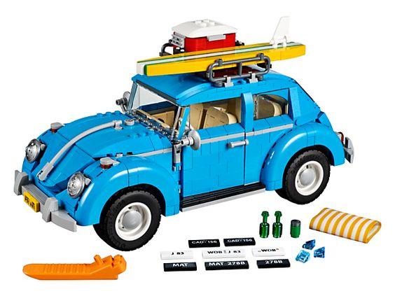 Pars à la plage avec la Coccinelle Volkswagen !