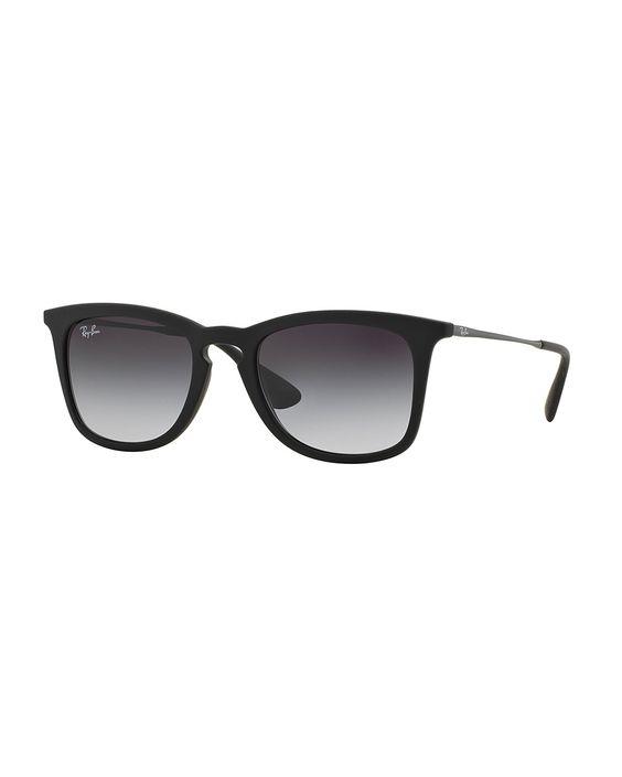 ray ban sunglasses black matte  ray ban wayfarer plastic sunglasses nok) ? liked on polyvore featuring accessories, eyewear, sunglasses, glasses, matte black, wayfarer sunglasses,