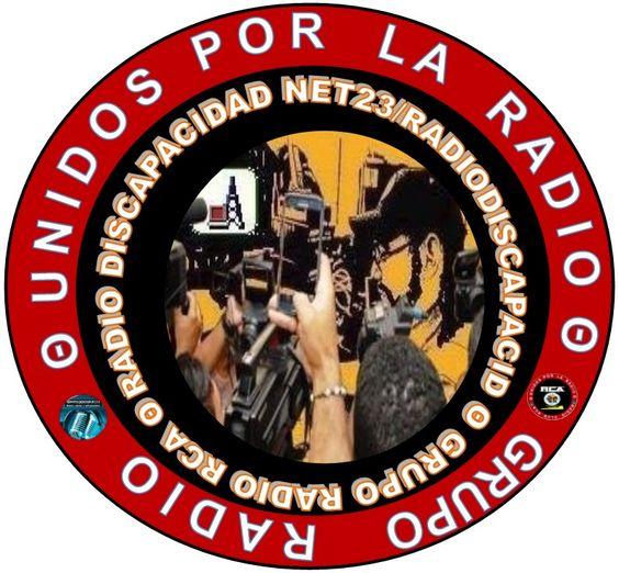 Logo del Radioenlace de aSes, Radio Discapacidad Net23/RadioDiscapacid y Grupo Radio RCA