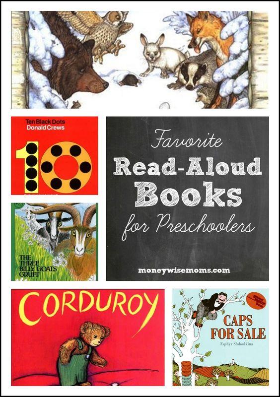 Favorite Read Aloud Books for Preschoolers - as chosen by my three kids!