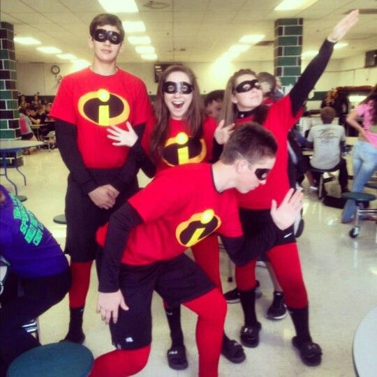Homecoming Week Character Day The Incredibles Costume Spirit Week Outfits Homecoming Week Incredibles Costume