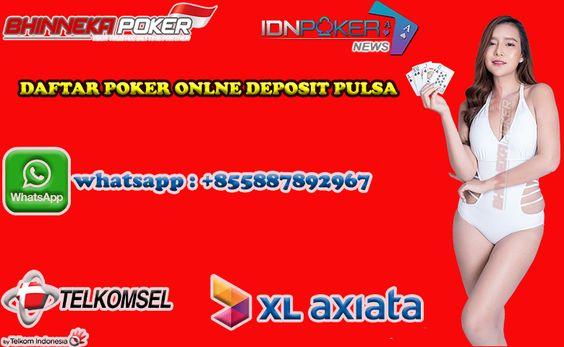 Daftar Poker Pulsa Terpercaya Bhinneka Poker Welcome Administracion Publica