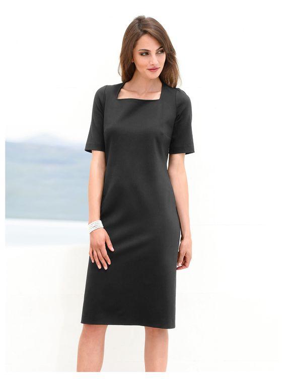 Peter Hahn Jersey-Kleid  mehrfarbig