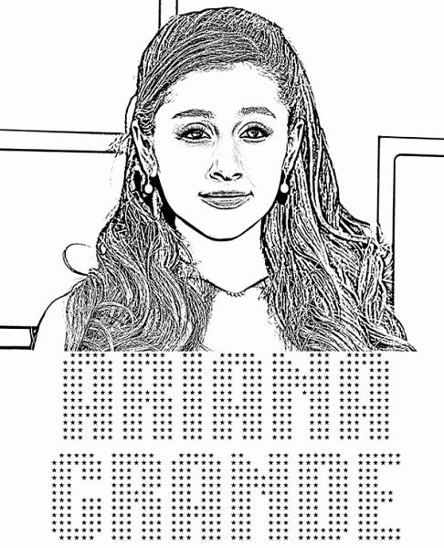 Ariana Grande Coloring Page New Timely Ariana Grande Coloring Pages Pages Coloring Pages Ariana Grande Color