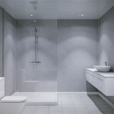 Https Www The Bathroom Showroom Co Uk Products Tiles And Wall Panels Wall Panels Laminate Wall Panels 10005 Bathroom Wall Panels White Paneling Shower Panels