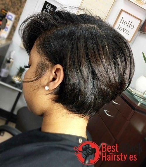 2019 Trendy Bob Hairstyles For Black Girls Black Bob Hairstyles Short Bob Hairstyles Short Hair Styles