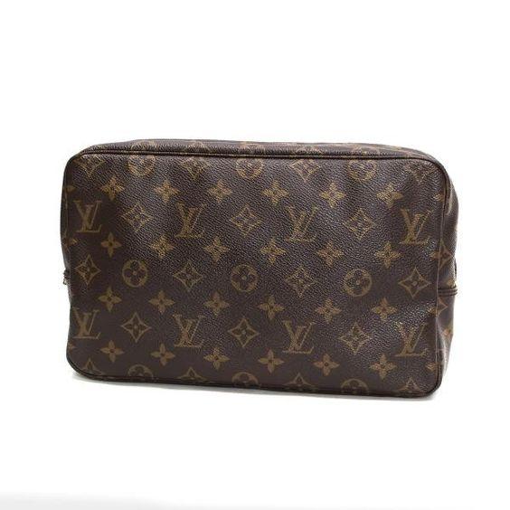 Louis Vuitton Trousse Toilette 28 Monogram Small bags Brown Canvas M47522