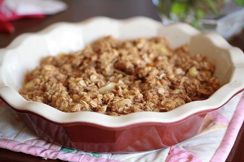 Breakfast Fruit Crisp   Baking & Sweet   Pinterest   Breakfast Fruit ...